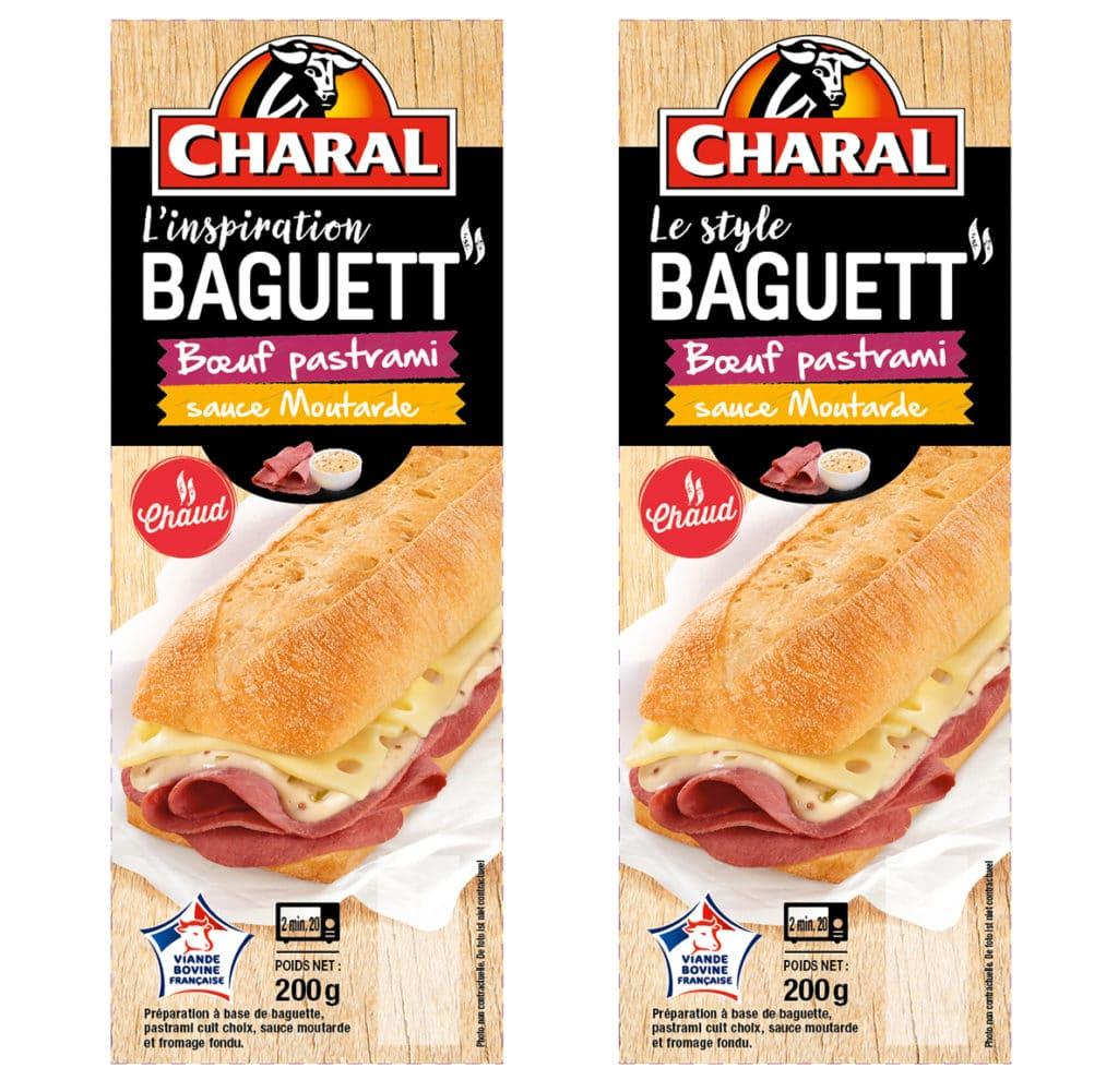 Baguett boeuf pastrami