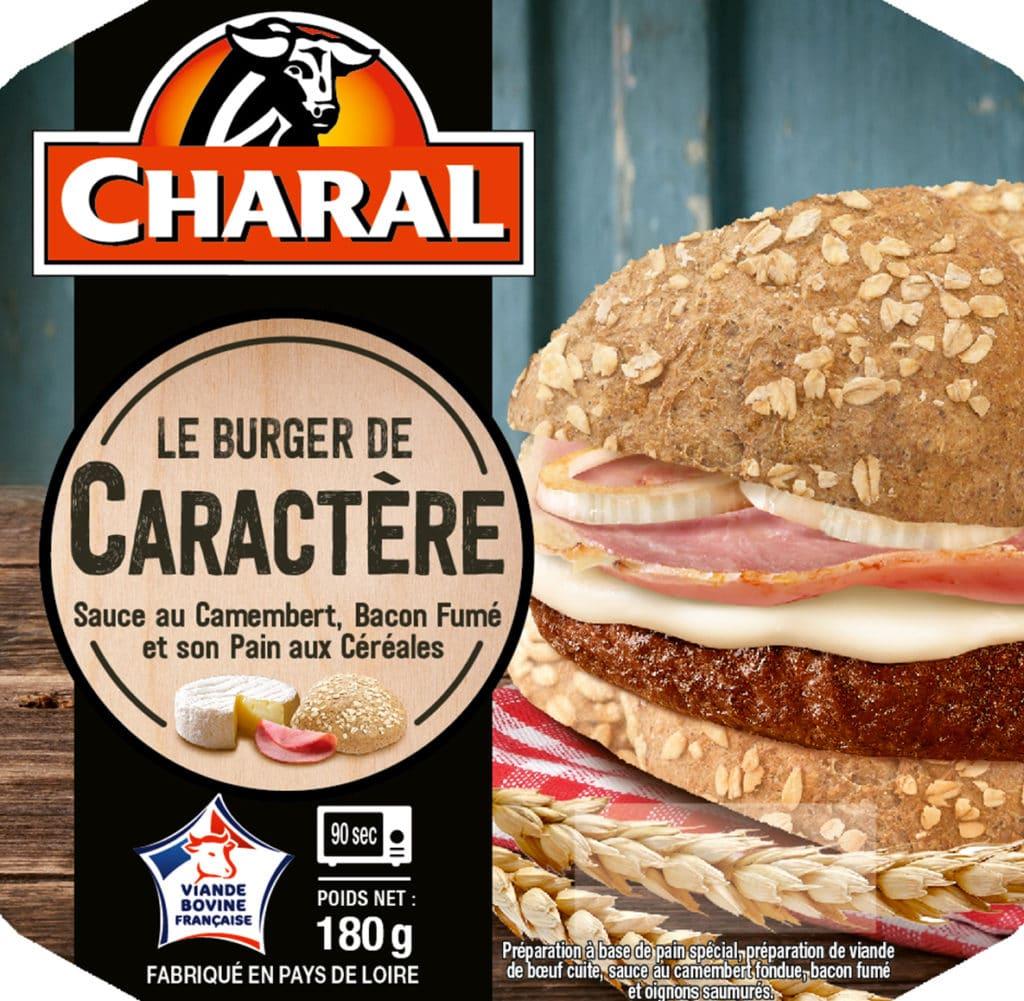 Le burger de caractère