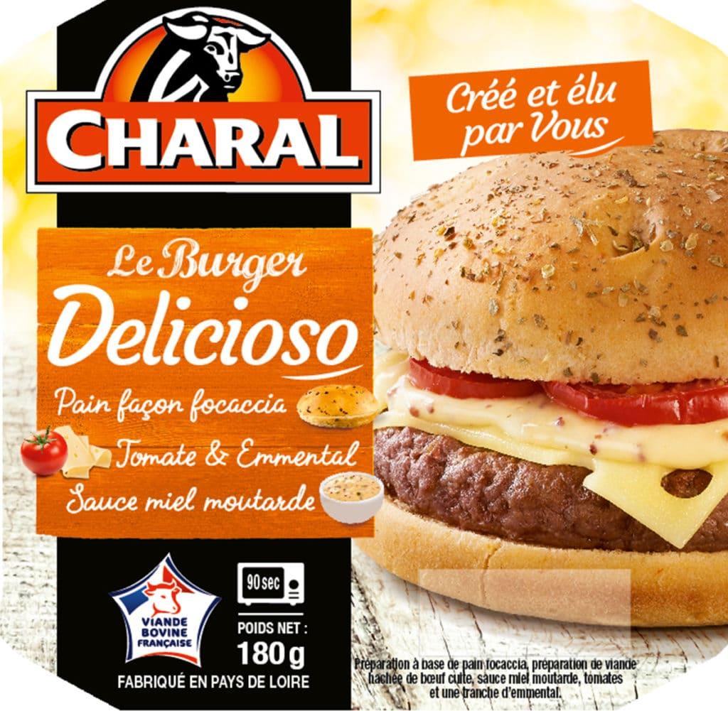 Le burger delicioso