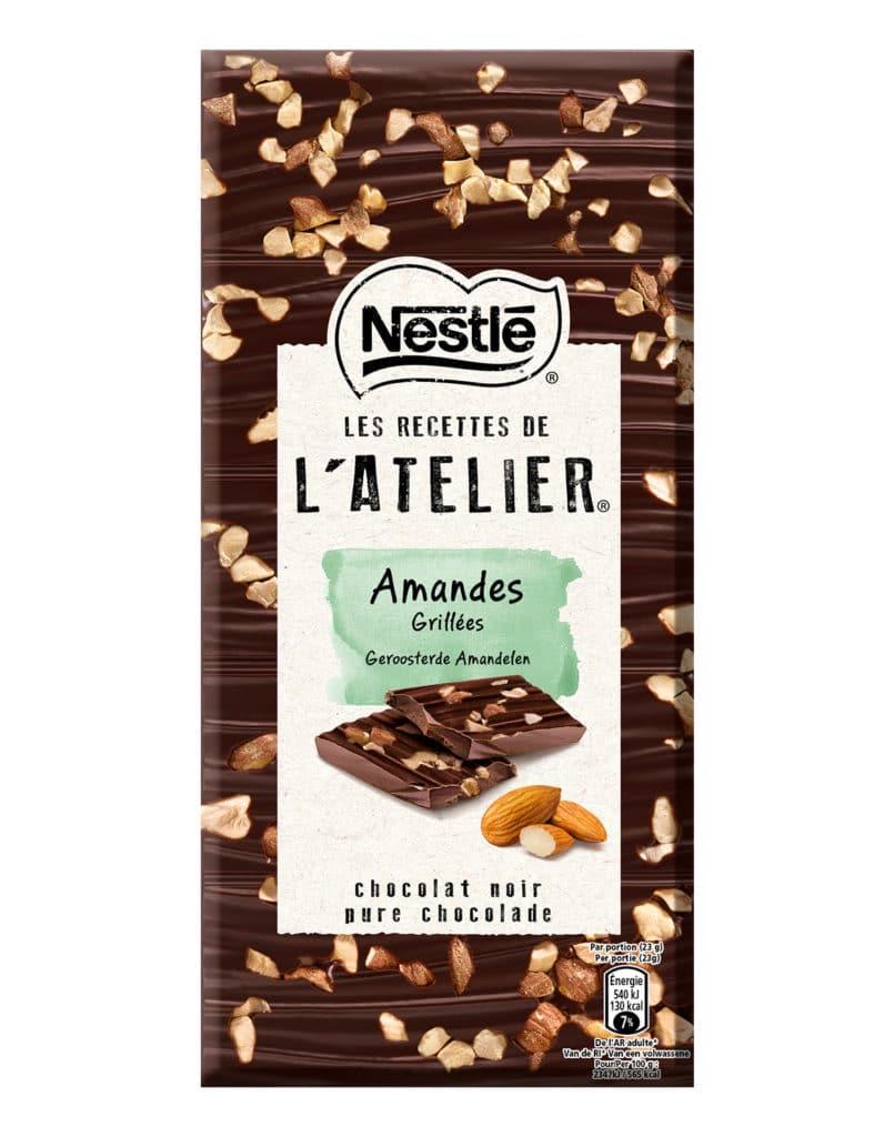 Chocolat amandes grillées