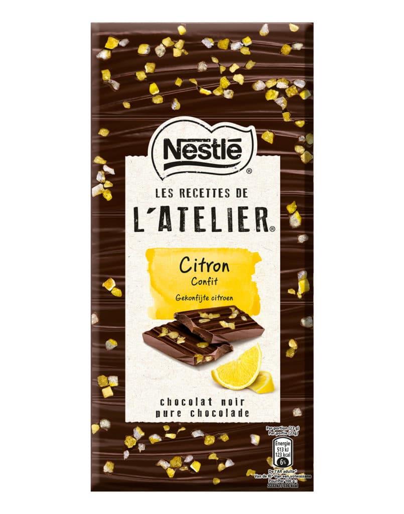 Chocolat citron confit