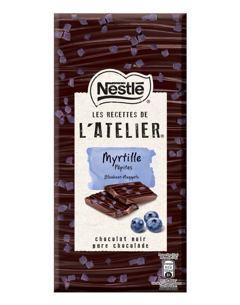 Chocolat myrtille