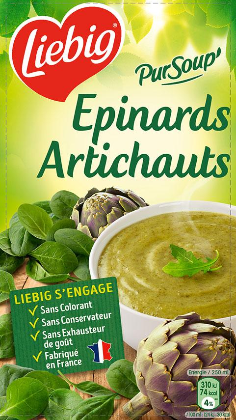 Epinards artichauts