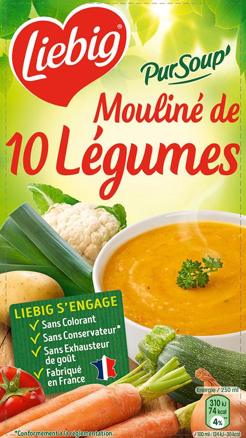 Mouliné de 10 légumes