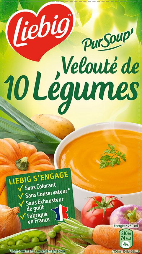 Velouté de 10 légumes