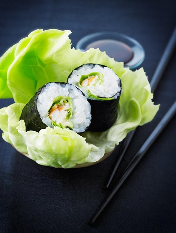 Maki surimi épicé